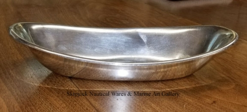 U.S. Navy Wardroom Silverplated Bread or Serving Dish, WWII