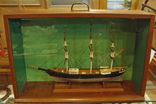 Cased Model of the Clipper Ship 'Red Jacket'