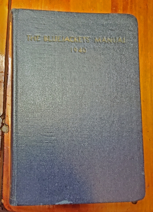 The Bluejacket's Manual, United States Navy, 10th Edition -- 1940