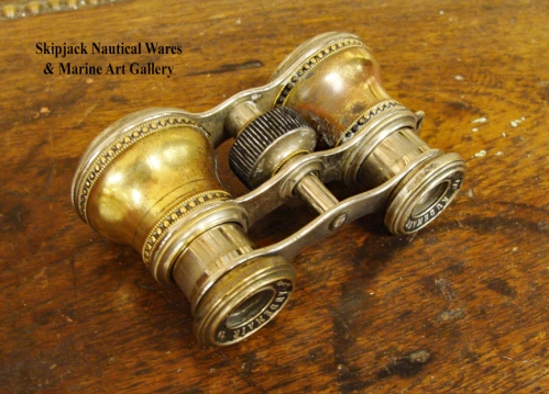 Audemair of Paris Antique Opera Glasses