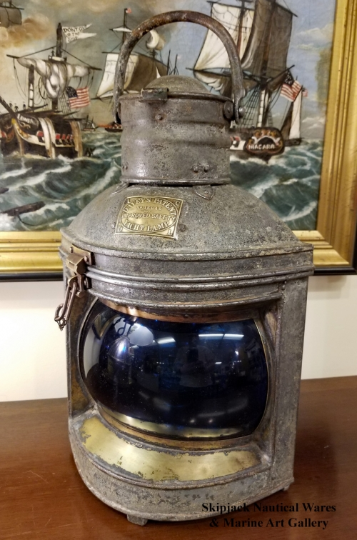 Davey's of London Starboard Marine Yacht Lamp