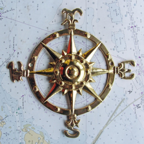 "Compass Rose, 7-3/4"" (new)"