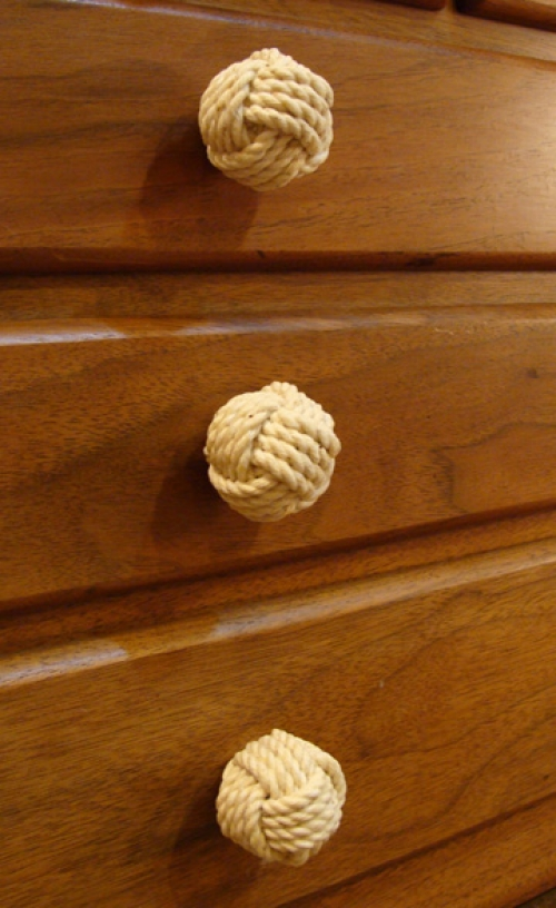 Small Monkey's Fist Cabinet or Furniture Knob