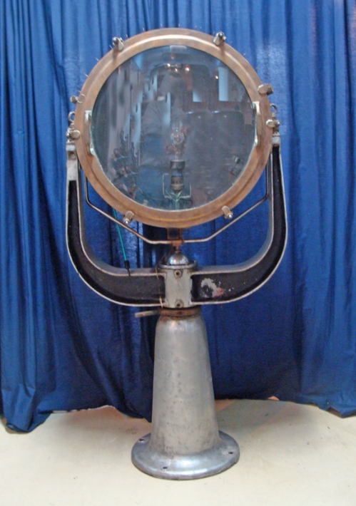 "Suez Canal Searchlight, 24"" diam. glass"