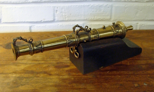 Antique Indonesian Brass Lantaka Cannon