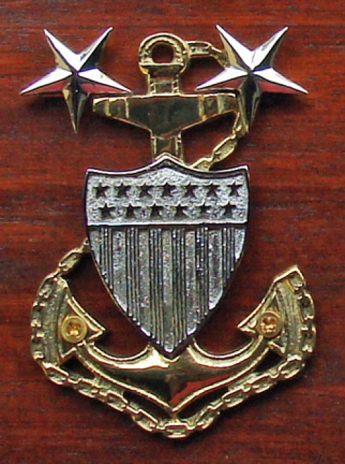 U.S. Coast Guard Master Chief Plaque (new)