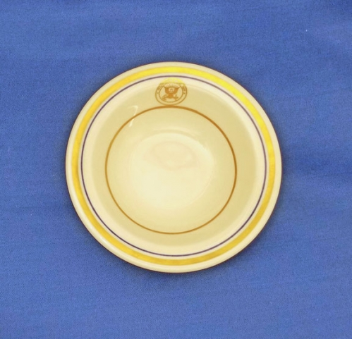 "RARE: U.S. Department of the Navy china berry bowl; 5"" diam. (vintage)"