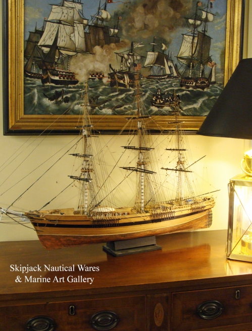 "Model of the Clipper Ship ""Flying Cloud""  1851 Crafted by Michael Smith"