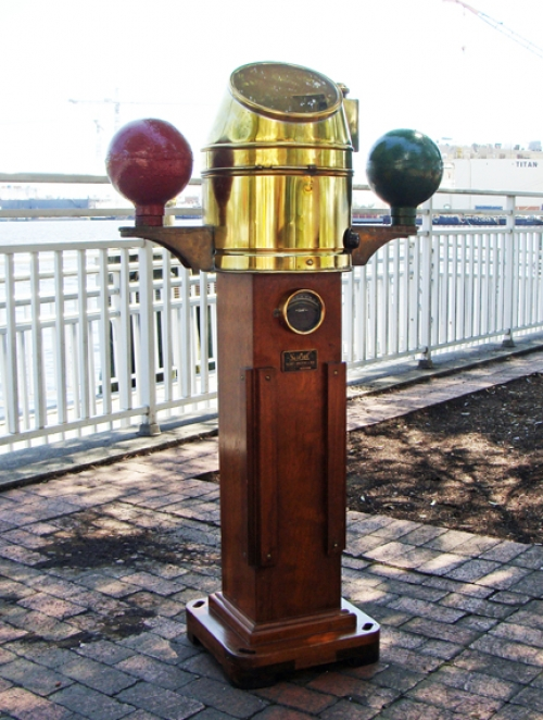 Henry Browne & Son Full Size Binnacle with Original Sestrel Compass- Nautical- Marine- Maritime