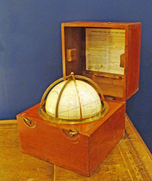 Husun Star Globe Manufactured by H. Hughes & Son Ltd, London, 1920