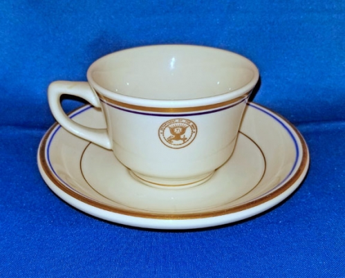 U.S. Department of the Navy china cup and saucer (vintage)