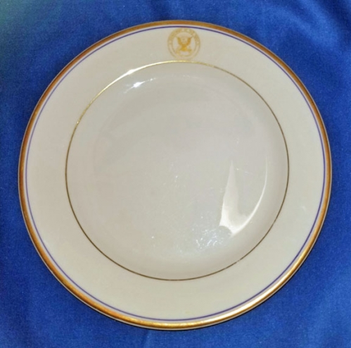 "U.S. Department of the Navy luncheon plate, 9"" (vintage)"