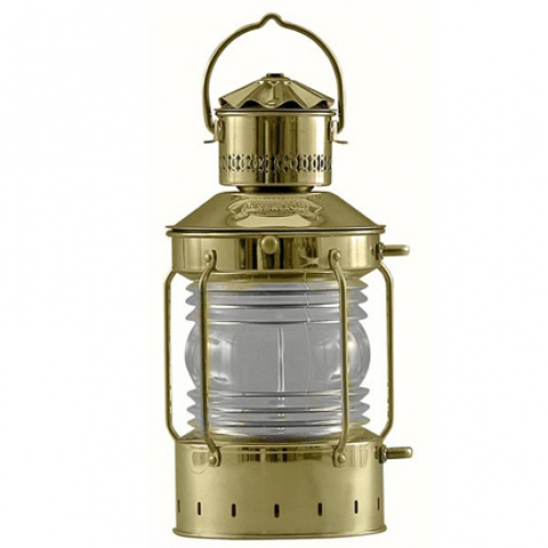 "Brass Anchor Light (5"" lens) (new)"
