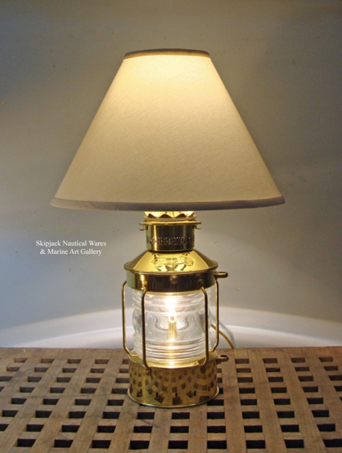 Skipjack's Anchor Lantern Table Lamp (new)