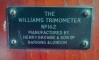 "The Williams ""Trimometer,"" Henry Brown & Son Ltd., London"