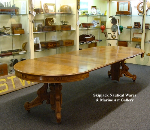 An American Renaissance Revival Victorian Dining - Banquet Table