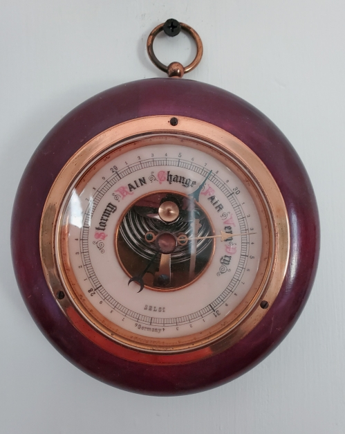 Vintage Barometer, Made in Germany by Selsi