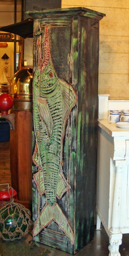 The Big Fish Wine Cabinet by Joe Marinelli