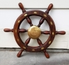 "Exceptional Ships Wheel- Boat Wheel -- 25"" diam."