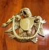 Classic Vintage Brass American Eagle Door Knocker