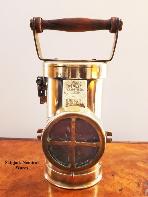 The Ceag British Diver Inspection Lamp, Circa 1920