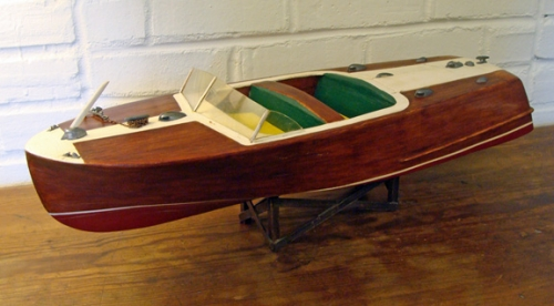 1960's Vintage Chris Craft Riviera Boat Model