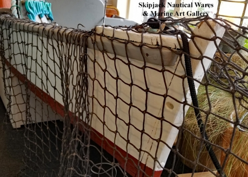 Authentic fishing net, approx. 4 feet X 9 feet