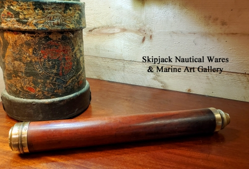 Early Sea Captain's Spyglass