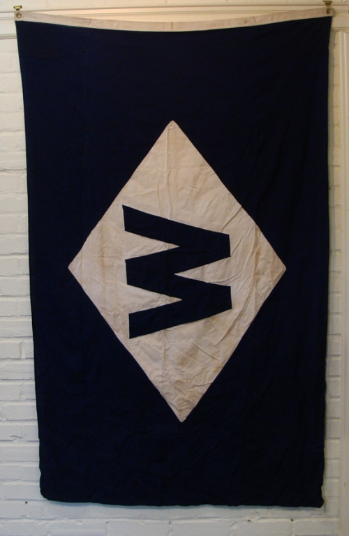 Unidentified Shipping Company House Flag
