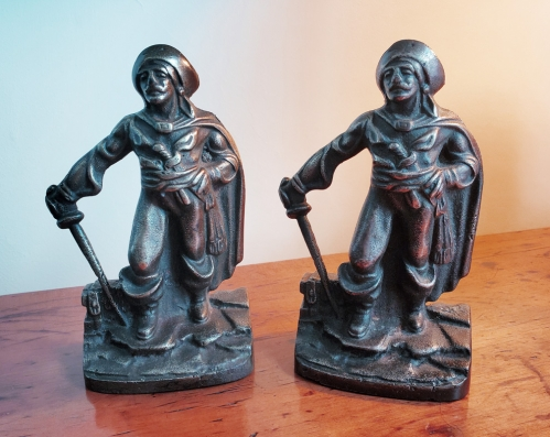 Pirate Buccaneers Antique Bookends