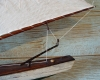 Sloop Pond Boat- Nautical Antiques- Antique Ship Model