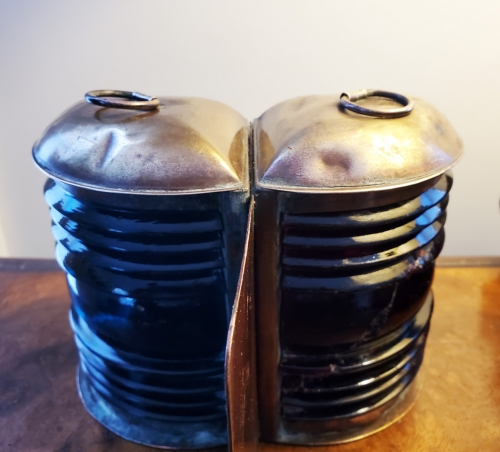 Combination Brass Port & Starboard Navigation Lights