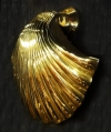 Large Scallop Shell Brass Door Knocker