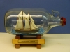 Schooner Virginia Model In-a-Bottle by Marine Artist Jim Goodwin