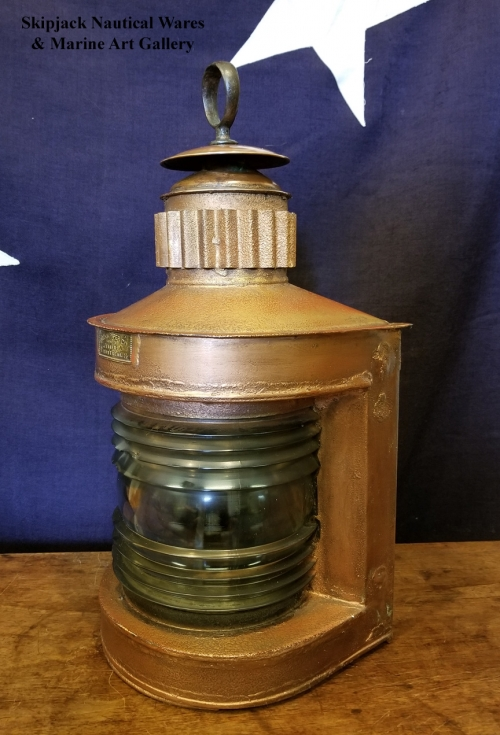 Early 20th Century Navigational Light- Hiram Piper Co. Montreal