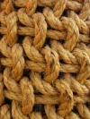 vintage boat rope fender ships nautical marine, maritime, closeup view of knots