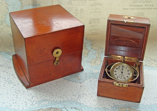 Waltham Boxed Chronometer with Appleton Tracy Movement, late 19th c.